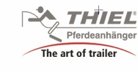 Thiel 2 paards polyester paarden trailer